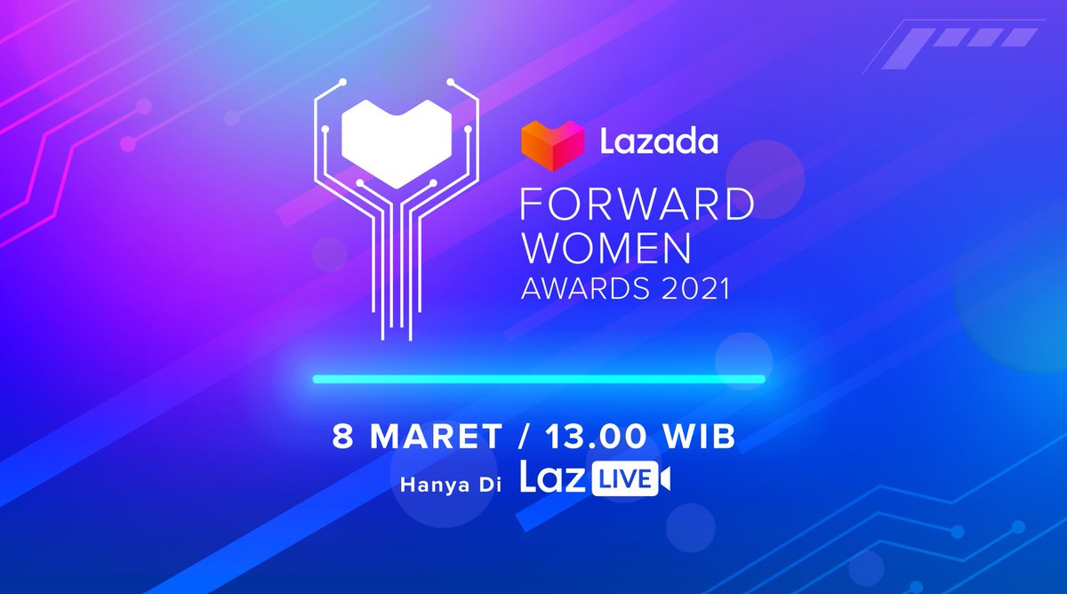We will be hosting our first-ever Lazada Forward Women Awards 2021 to recognise women in Southeast Asia in their journeys as online entrepreneurs! Join us on LazLive, 8 Mar, 13.00 WIB:   #YakinDariHati #LazadaFWA #LazadaForwardWomenAwards #LazadaID