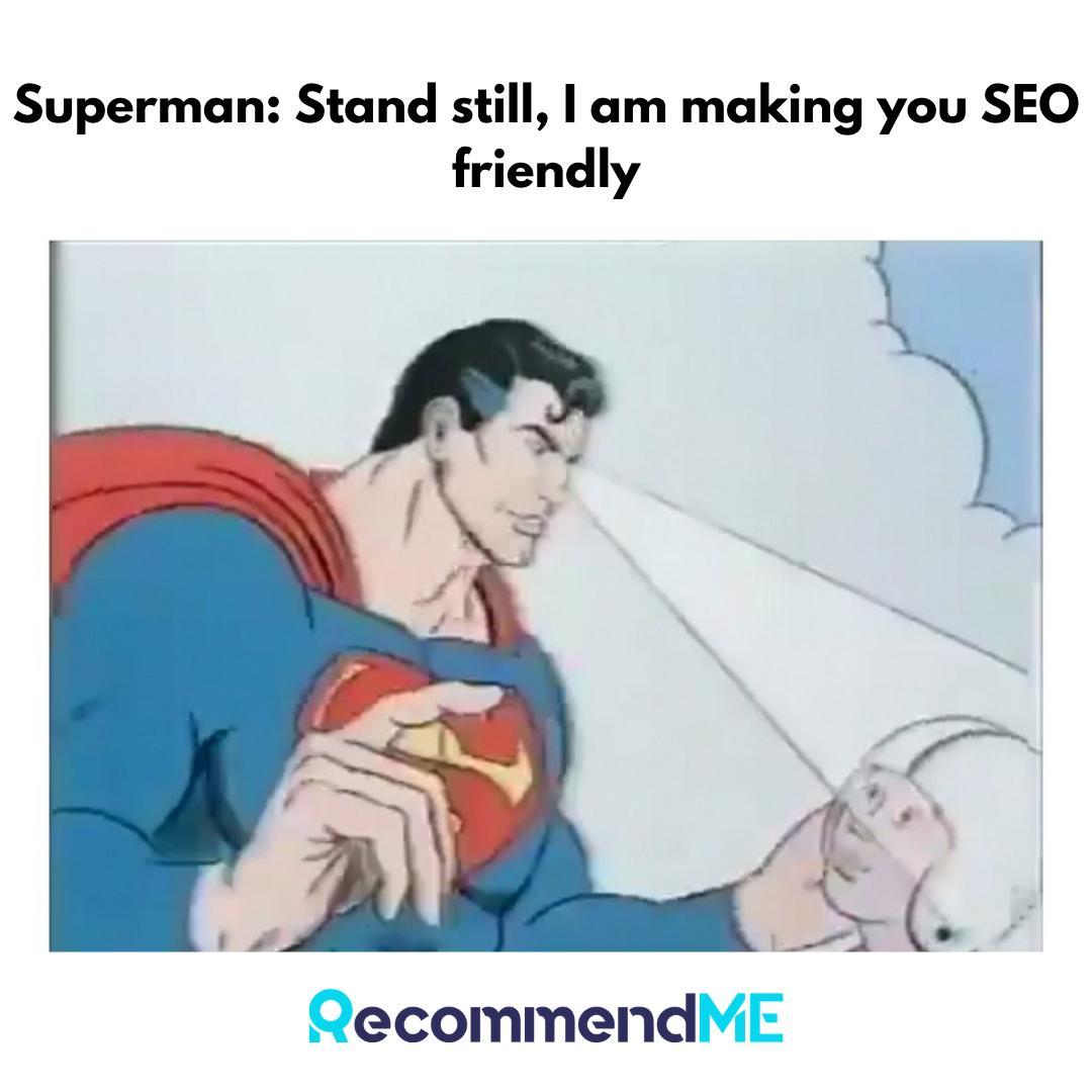 If only superman was a content writer 😂😝😝 #meme #memesdaily #Superman #HenryCavil #dccomics #JusticeLeague #christopherreeve #SEO #contentmarketing #RecommendMe