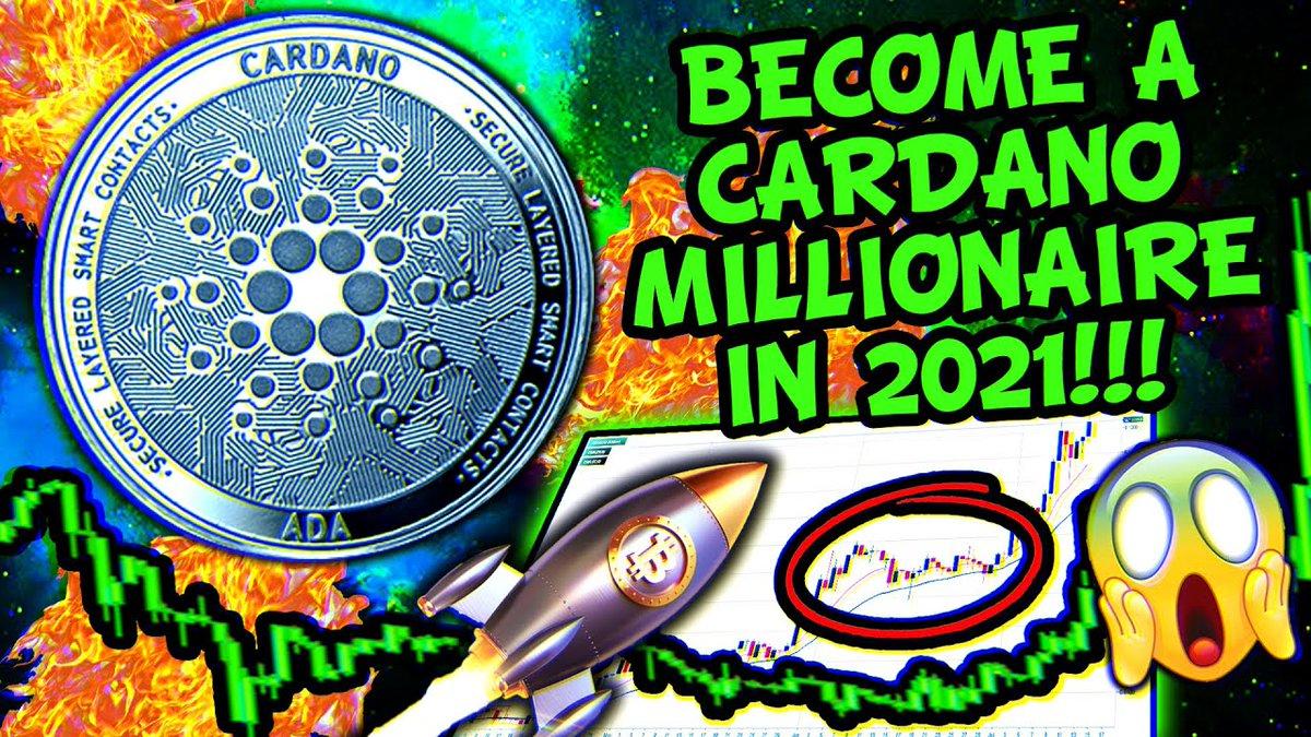 #Cardano #Millionaire IN 2021!!!? #News, ...    #Binance #BinanceCoin #Bitcoin #BitcoinNews #Blockchain #Btc #Chainlink #Coinbase #Crypto #CryptoCurrencies #CryptoNews #DailyBitcoinNews #DayTrading #Defi #DigitalCurrencies #Eos #Eth #Ethereum
