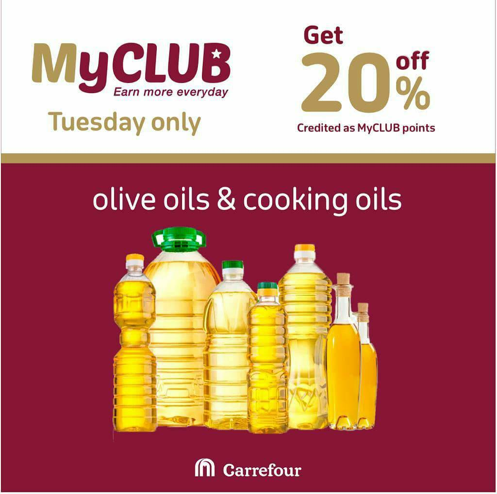 Save more on your weekly shopping with @carrefourkenya'sa MyCLUB deals on olive oils and cooking oils. Offer valid today only. #WestgateExperience https://t.co/AuLIokm9jH