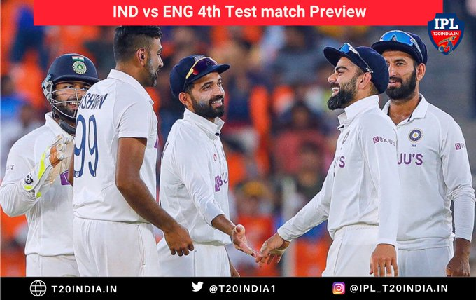 Live Report - India vs England, 4th Test, Ahmedabad, 2nd day Photo