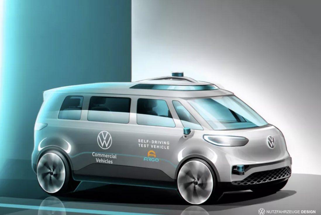 Production version of autonomous Volkswagen ID Buzz seemingly shown off in sketch form   https://t.co/nwqm6XSxFf via @Roadshow #SelfDrivingCars #autonomous @SpirosMargaris @mvollmer1 @enricomolinari @Nicochan33 @PawlowskiMario @ShiCooks @RLDI_Lamy https://t.co/IdVCXv9kv2