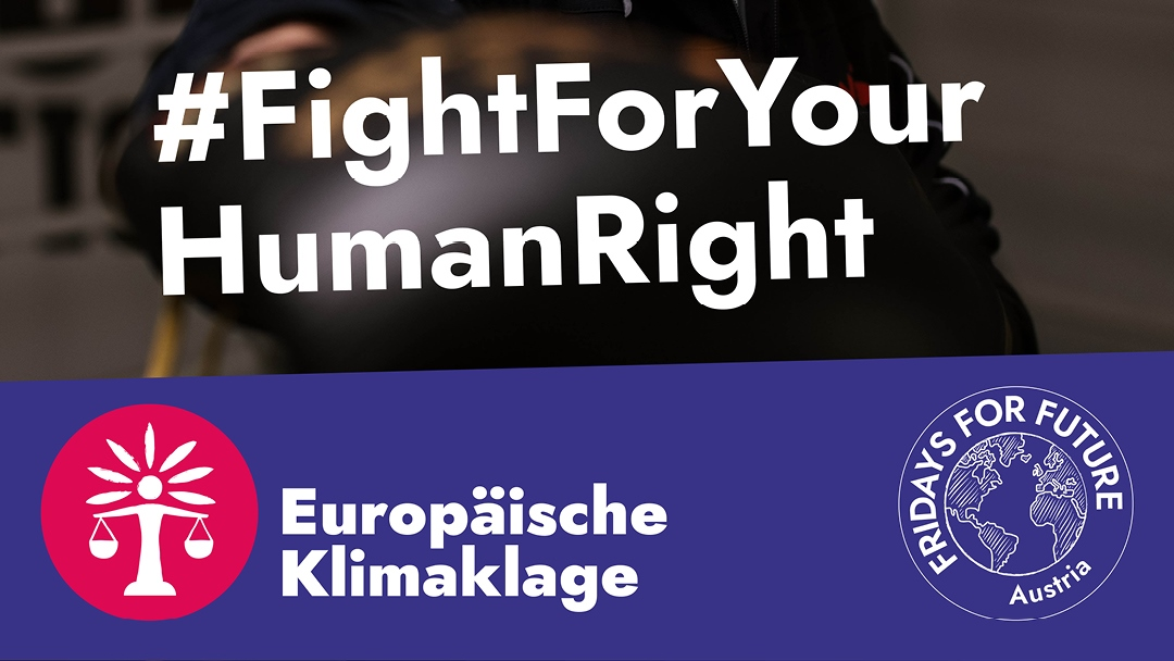 Today we launched a new #ClimateLawsuit against Austria. It is time that the state's duty to protect life and health in light of the #ClimateCrisis is acknowledged by courts and in particular by the European Court of Human Rights - the authority in charge to interpret the ECHR.