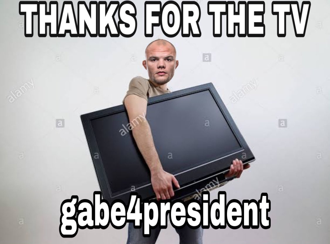Replying to @TeepKickk: @gabe4president