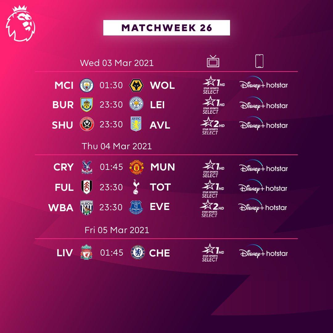 Matchweek 26 keeps on going 🤩 #PL