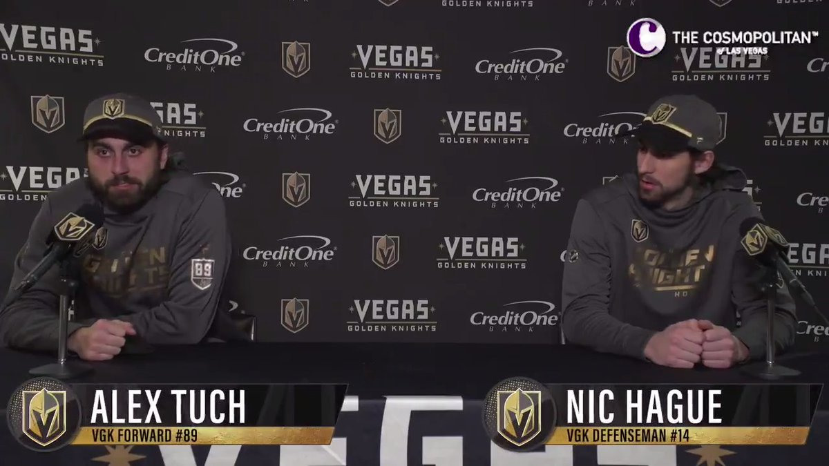 @GoldenKnights's photo on Tuch