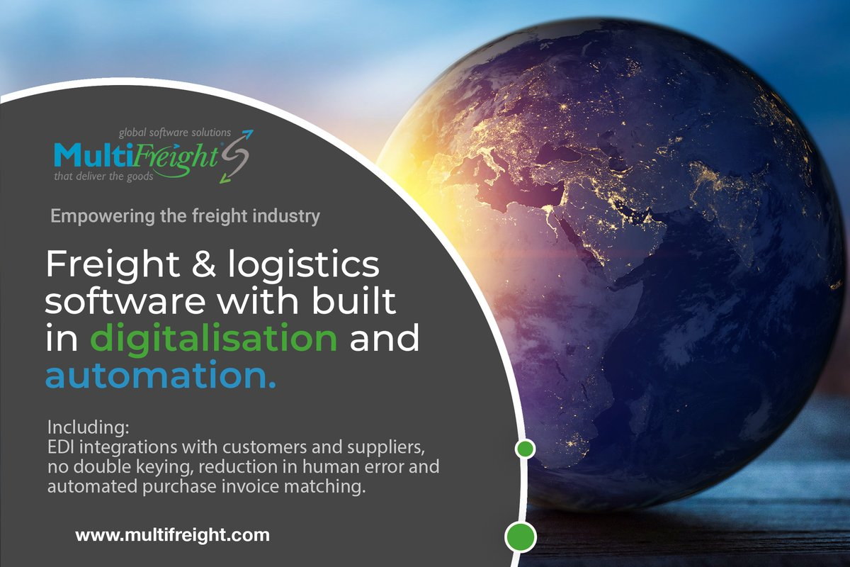 Empowering the freight and logistics industry.  #logistics #supplychain #freight #software