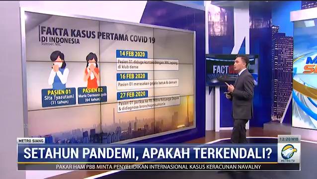 Pandemi Covid-19 sudah terjadi selama satu tahun selama di Indonesia. Bagaimana sebenarnya penanganan Covid-19 di Indonesia?  #knowledgetoelevate #metrosiang #factcheckmetrotv #satutahuncovid19indonesia