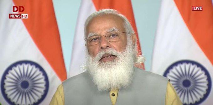 India sincere to emerge as leading blue economy of world: PM Modi at Maritime India Summit 2021 Photo