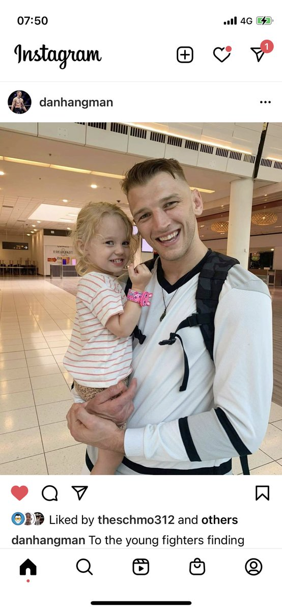 #Danhooker What a Legend Almost 2 months after #ufc257 in January Hes returns out of quarantine to be with his family on March the 3rd . If that's not dedication ... I dunno what is 💯 #respect to this man ! @ufc @danawhite #mma @MikeChandlerMMA @espnmma @SubmissionRadio @BYMPod