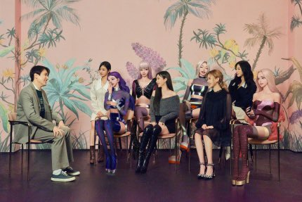 aespa and their AIs had an interview ?! .. filmed on the same day as their SMA acceptance video