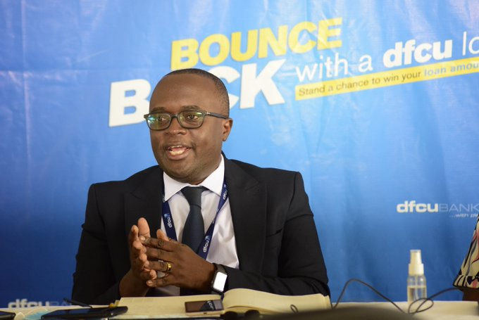 Robert Wanok, Head Personal and Business Banking, DFCU (Picture: Twitter)