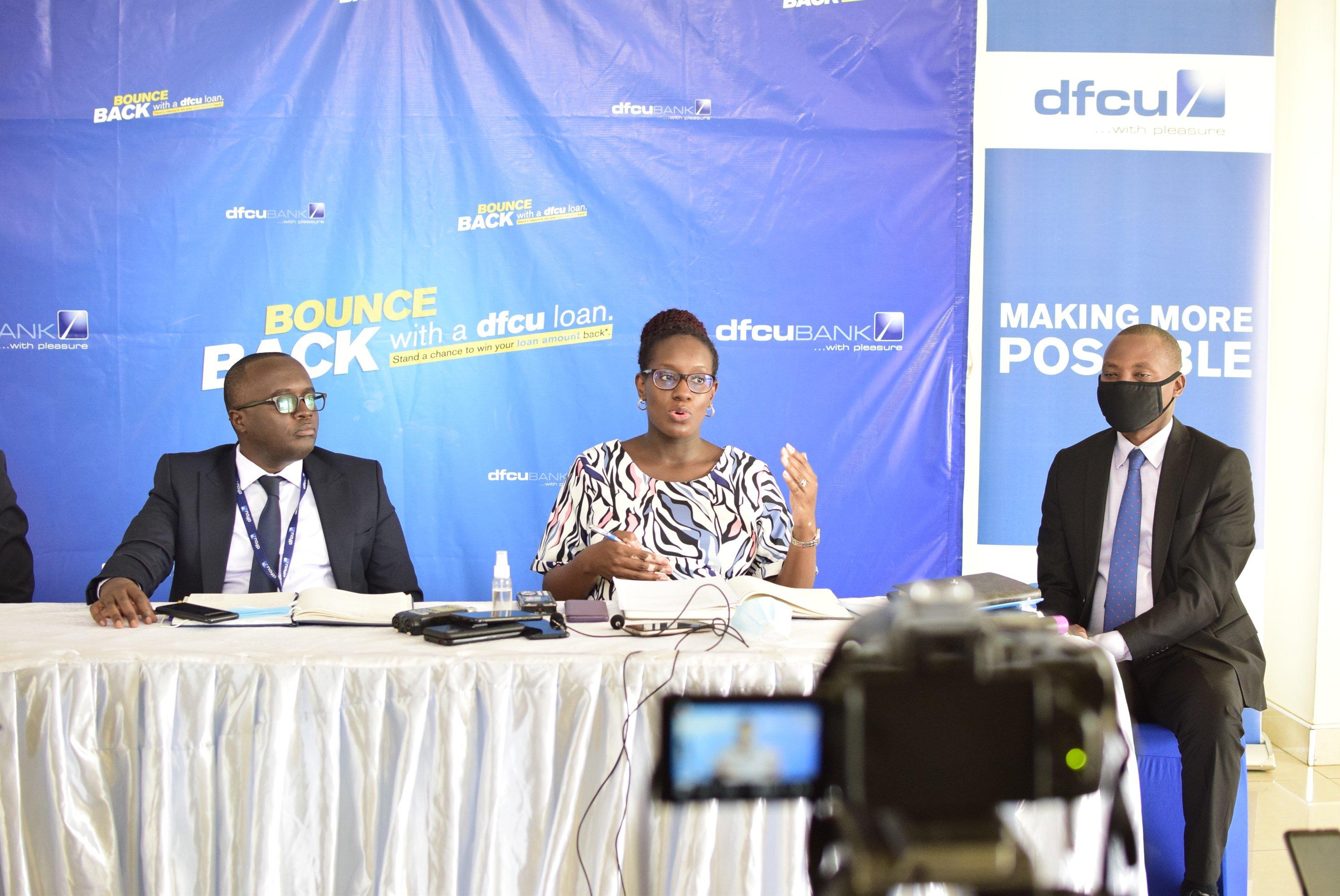 Miranda Bageine Musoke, Head Personal Banking, DFCU (Picture: Twitter)