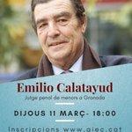 "Image for the Tweet beginning: Iniciem el cicle ""converses amb...""  Emilio"