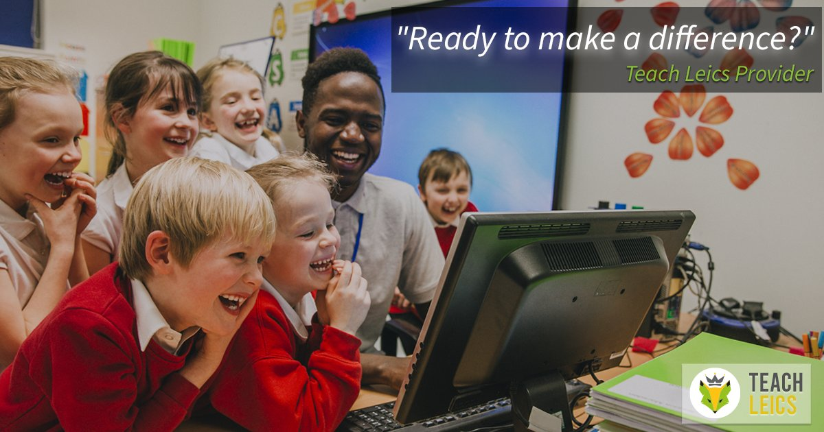 Considering taking the next steps on your journey to becoming a teacher? Teach Leics free information event happening online on Weds 10th March, 6 - 7:30pm!   Get your free ticket here 👇 https://t.co/FdrY8ty9gr