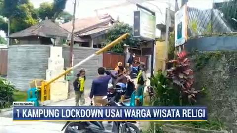 Puluhan warga di desa Sariwangi, Kecamatan Parongpong, Bandung, terpapar Covid-19 setelah melakukan wisata religi ke luar kota. Akhirnya satu desa harus menjalani lockdown atau pembatasan aktivitas. #MetroSiang #KnowledgeToElevate