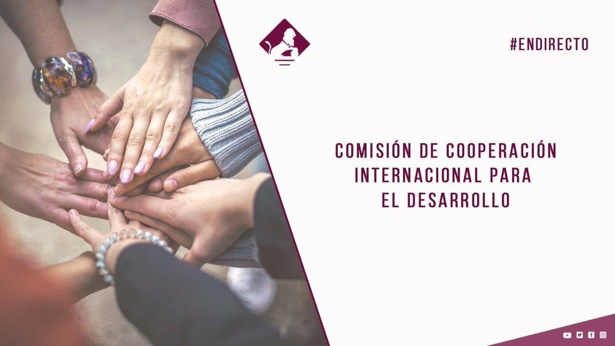 La #SECI @AMorenoBau informa hoy ante la Comisión de #Cooperación Internacional para el Desarrollo del @Congreso_Es sobre las actividades de su Secretaría y la reforma del sistema de cooperación.  🕦11:30 📄Orden del Día:  📺Directo: