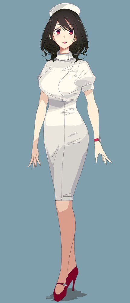 *She walked into the room about to treat you. You call her to come and check on you. She swiftly turned around and noticed you thinking she knew from somewhere.* Um one second! *She hurried over to you* #OpenRP #toonami