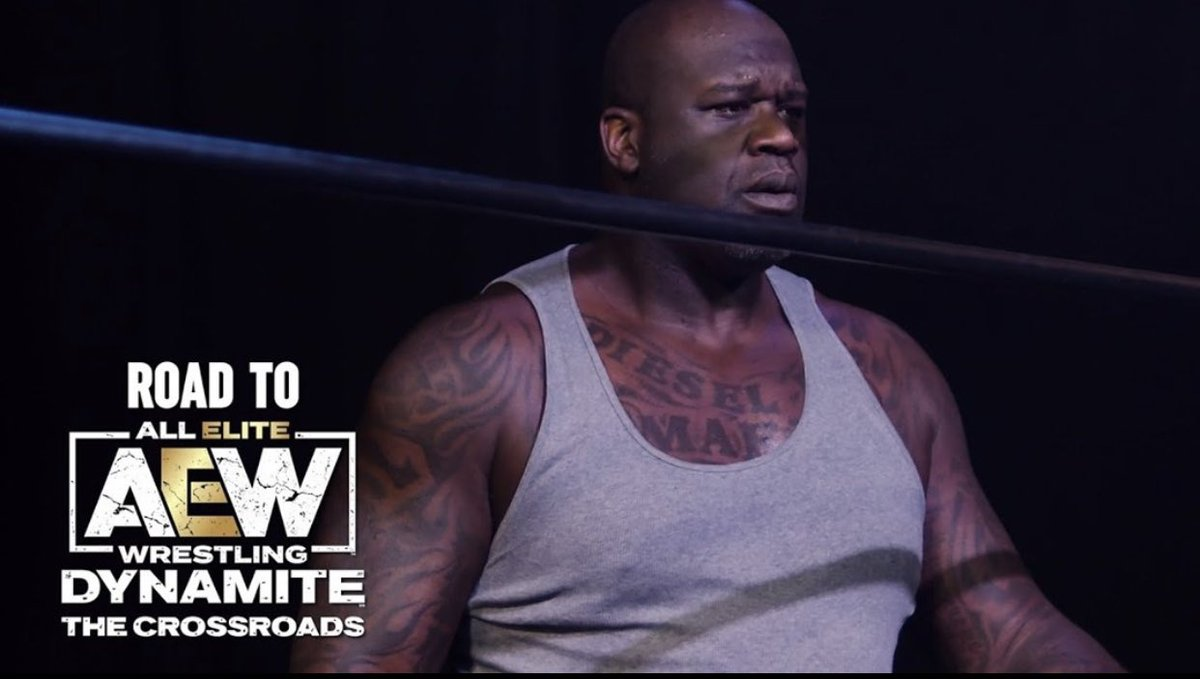 🚨 #Shaq Set To Wrestle For AEW: Explains he's going to show his strength and that he'll not be jumping off no ropes ‼️🚨