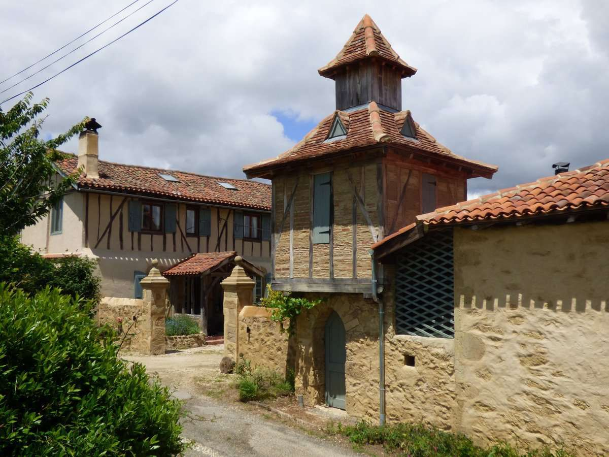 Charming, Character Farmhouse, Beautifully, Renovated, Gers, Gascony, France!  Delightful farmhouse estate.  Complex of fully renovated buildings, in  2 hectares of land, inc main property and 3 gites.  Marciac is close by.    #SaturdayMotivation