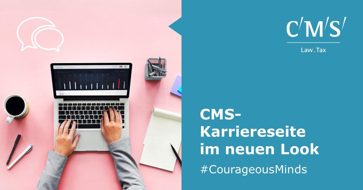 test Twitter Media - Unsere CMS-Karriereseite erstrahlt im neuen Look! Wer auf der Suche nach einer Einstiegsmöglichkeit bei Deutschlands größter Wirtschaftskanzlei ist, ist hier genau richtig: https://t.co/GI3rhZfGCH #CourageousMinds https://t.co/y55Tz2iwjZ