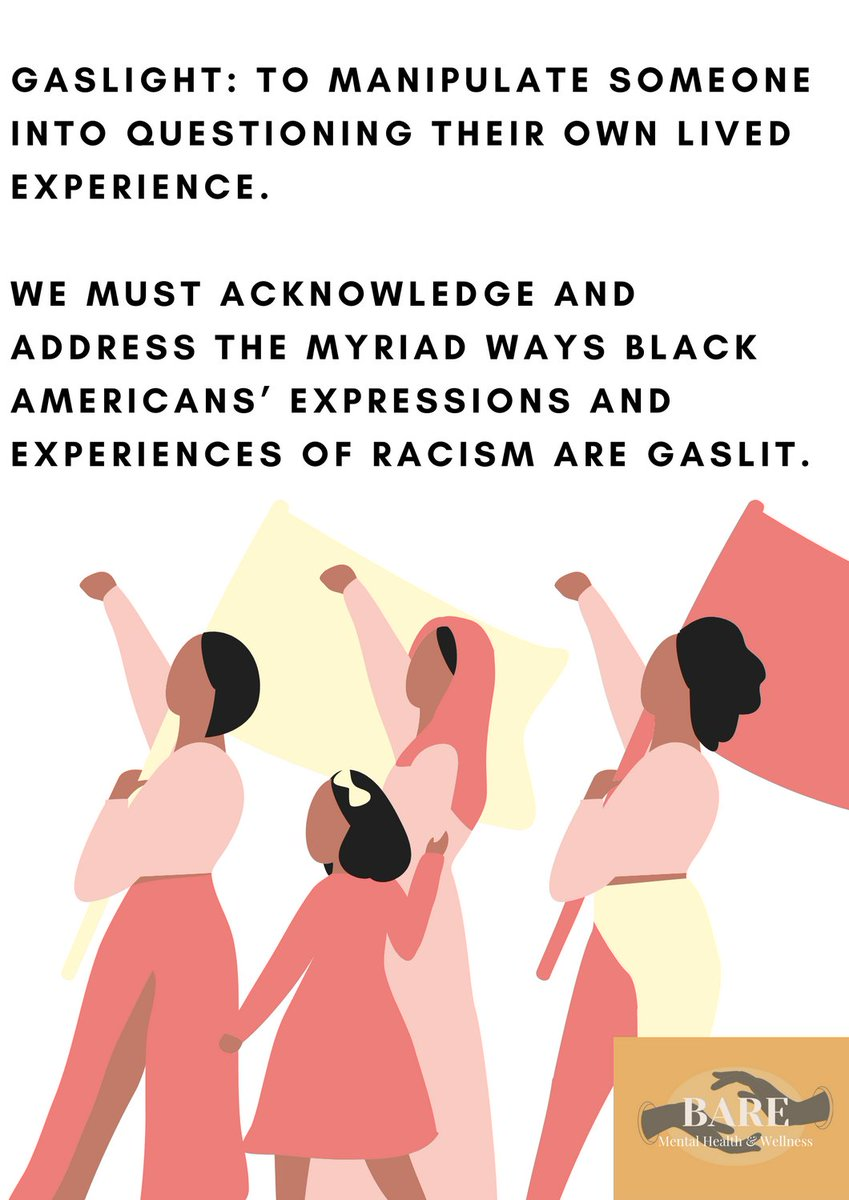 #blackmentalhealth #blackwellness #stopgaslighting #beileveus #blacklivesmatter #dismantleoppressivesystems