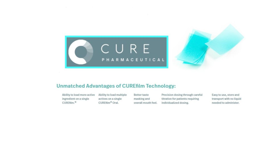 $CURR CURE Pharmaceutical is advancing this uniquely discrete, convenient and portable oral film product for achieving a better patient experience #TuesdayThoughts @Cure_Pharma_ @frontpagestocks @JediJazz22 @ProPennyPicks @stockzeus #RT