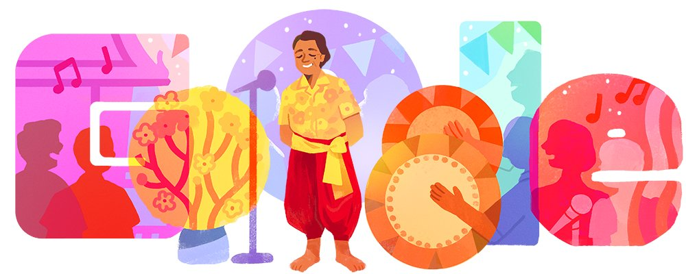 Known to audiences by his stage name Wang Tae, Thai musician Wangdee Nima spread joy for decades as a master of the traditional Thai folk music known as Lam Tad 🇹🇭🎙  Learn how Wang Tae became 1 of the genre's foremost (& wittiest!) voices →  #GoogleDoodle