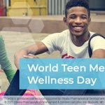 Image for the Tweet beginning: Today is #WorldTeenMentalWellnessDay. Aiming to