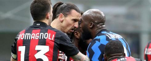 #ACMilan veteran Zlatan Ibrahimovic said he has 'no problem' with #Inter forward Romelu Lukaku. 'What happens on the pitch stays there'.   #FCIM #SerieA #CoppaItalia #InterMilan #SerieATIM #Calcio #Sanremo2021