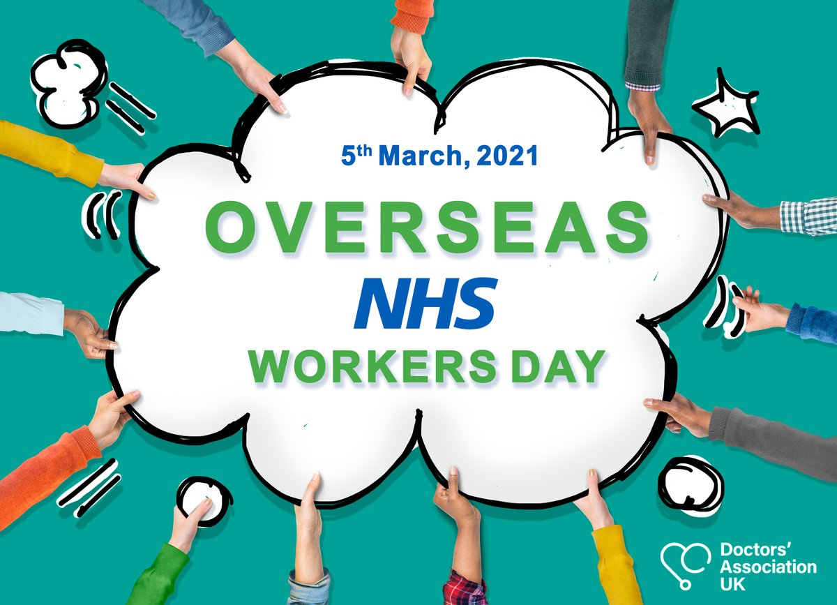 There are 3 days to go until #OverseasNHSWorkersDay, still time to get involved!