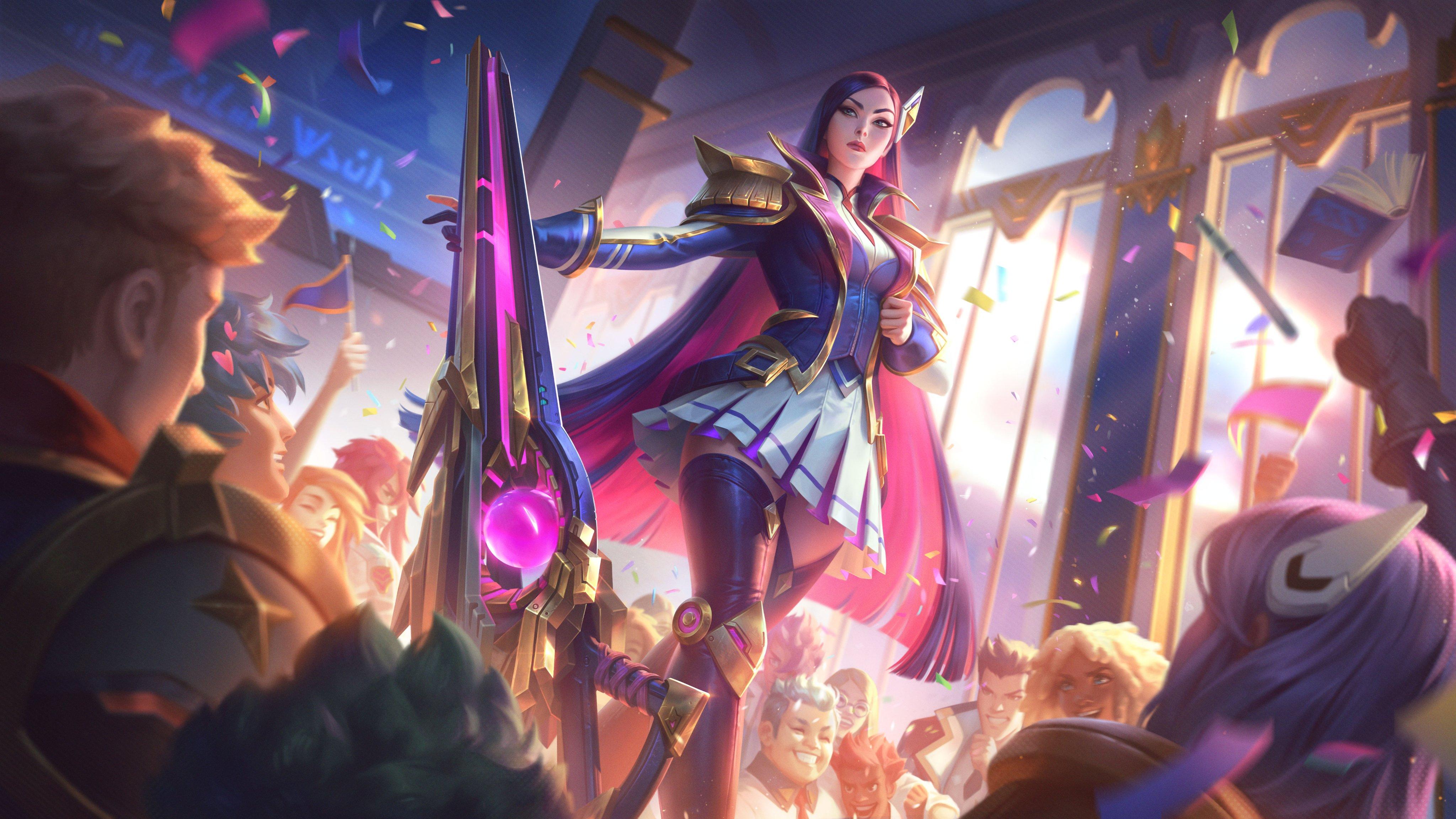 Battle Academia Caitlyn