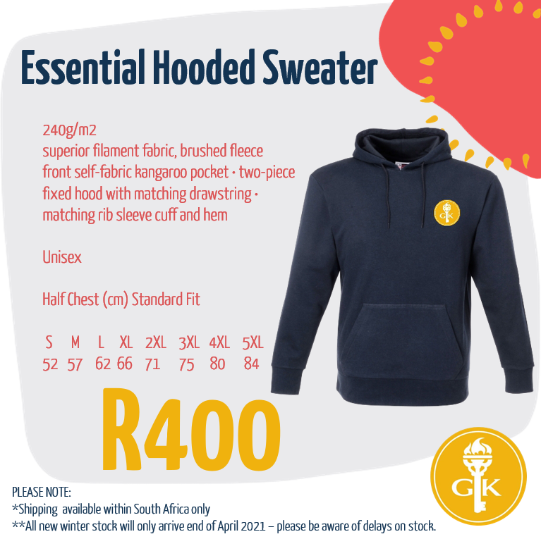 Get our number one seller now!  Essential Hooded Sweater:    #yesgk #GKSA #stayhome #staysafe