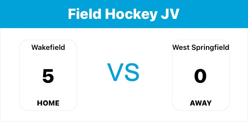 JV field hockey opens up the season with a win against a good West Springfield program. Excited for the rest of the season. <a target='_blank' href='https://t.co/wUtGJRp0S5'>https://t.co/wUtGJRp0S5</a>