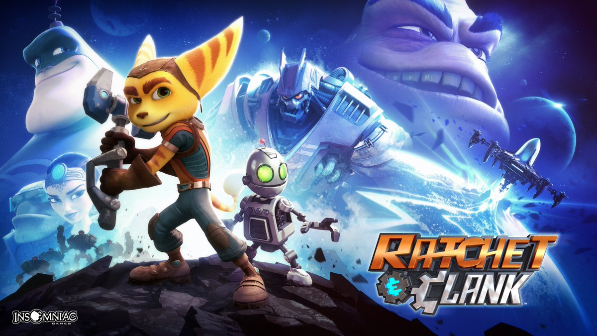 #PlayAtHome returns! PS4 & PS5 players can download Ratchet & Clank (2016) for free from today through 31st March, with more to come over the coming months: https://t.co/qkZaQXOiRP https://t.co/MyywRtqojK