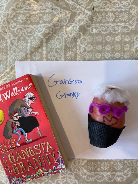World Book Day #4thMarch #creativity #fun #gangstagranny @davidwalliams @WorldBookDayUK @FlyingHighHub @candleby #CCLS