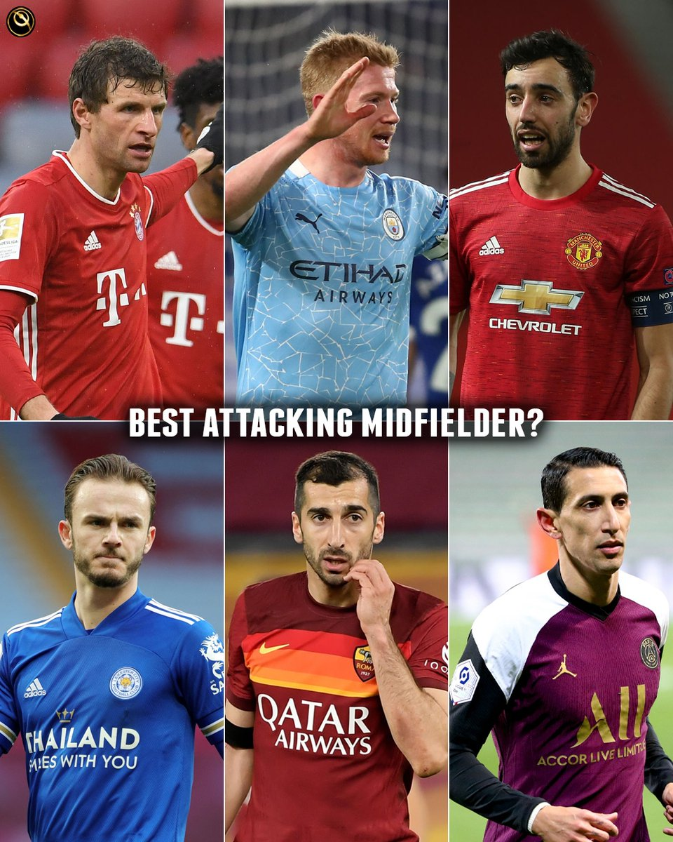 ☝️ Who's the best attacking midfielder?