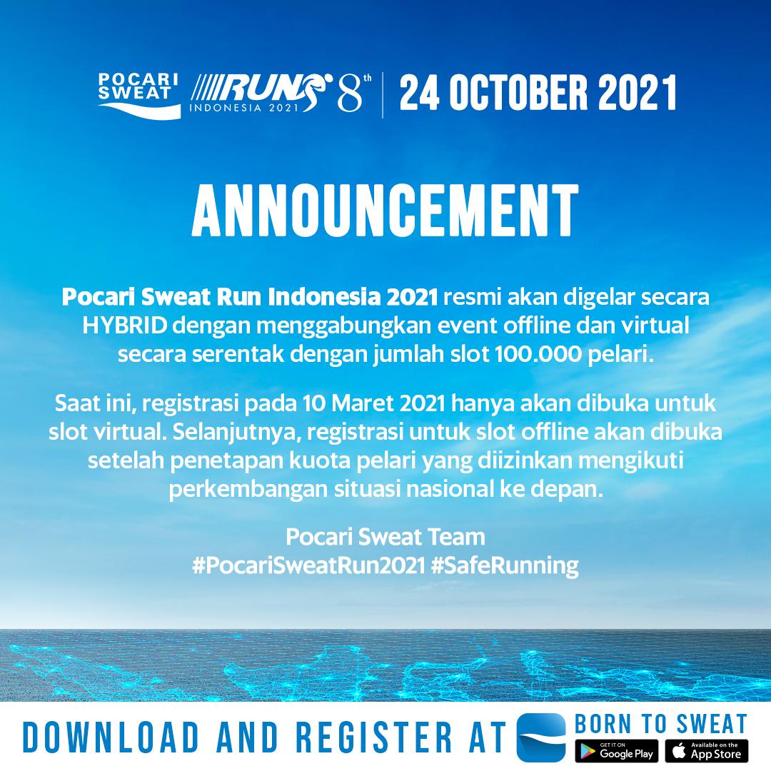 Pocari Sweat Run Indonesia • 2021