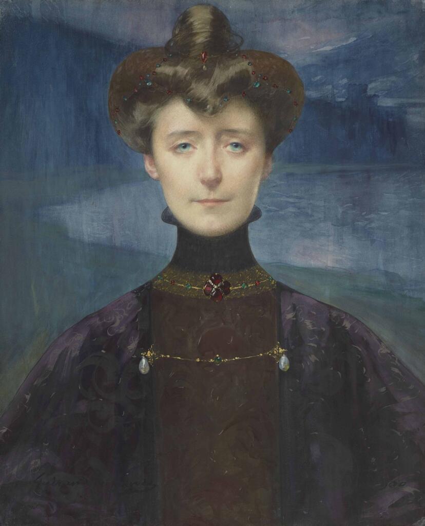 #Lucien #Victor #Guirand II (Sé, 14/11/1871 - Parigi, 29/03/1950) - Um pintor simbolista genial Portrait de Marguerite Moreno #ArtesPlásticas #Pinturas #Paints #artfinder #ArtGallery #Peinture #Art #FineArt #BlogdoMesquita #José #Mesquita + Artes->