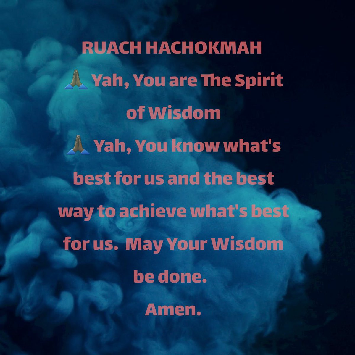 RUACH HACHOKMAH #tuesdaymotivations  #tuesdayvibe  #GodMorningTuesday  #YahMorningTuesday