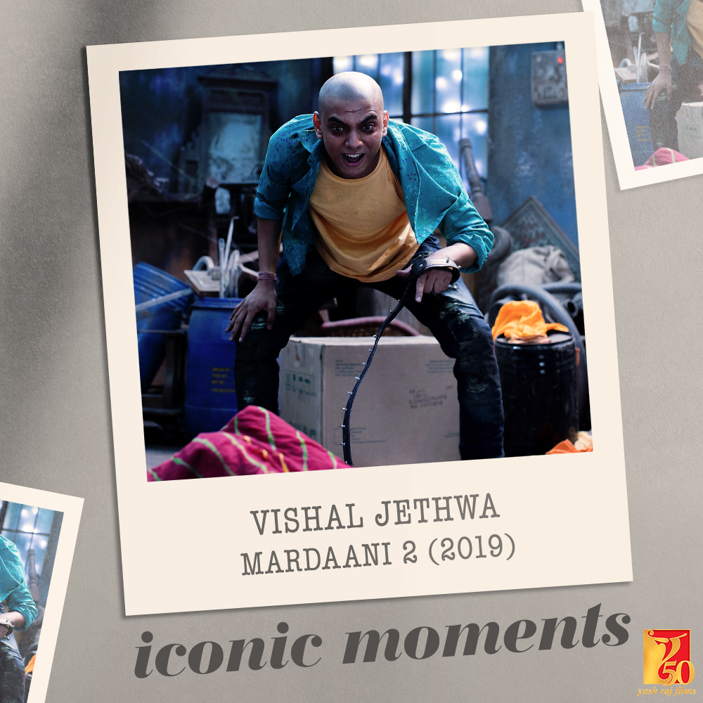 Acing the villain role 💯 #YRF50 | #VishalJethwa