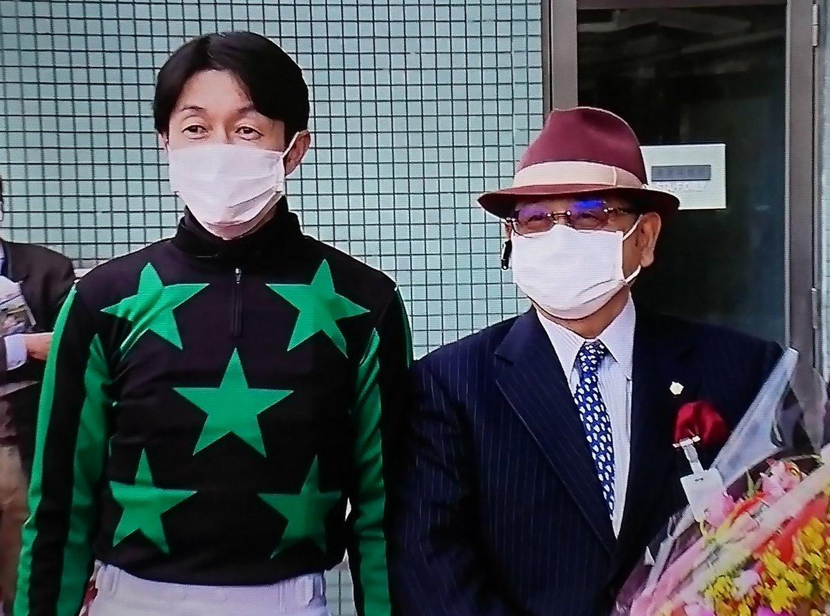 武豊騎手と松田国英調教師✨ …といえば……🤔 クロフネ❗❗タニノギムレット❗❗