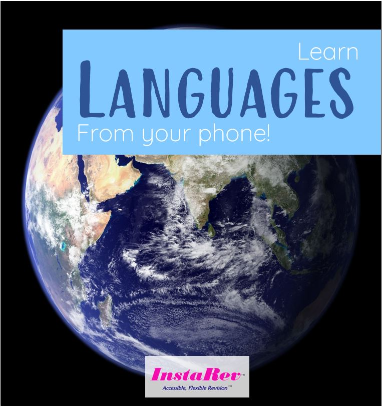 Learn new #Languages from your #phone!  InstaRev is the #revision tool for #students in #UK #studying their #GCSE's and in #India #studying #ICSE & #CBSE.  #edtech #education #GCSE #student #pupil #tutor #freetrial #free #learning #monday #mondaymorning #mondaymotivation