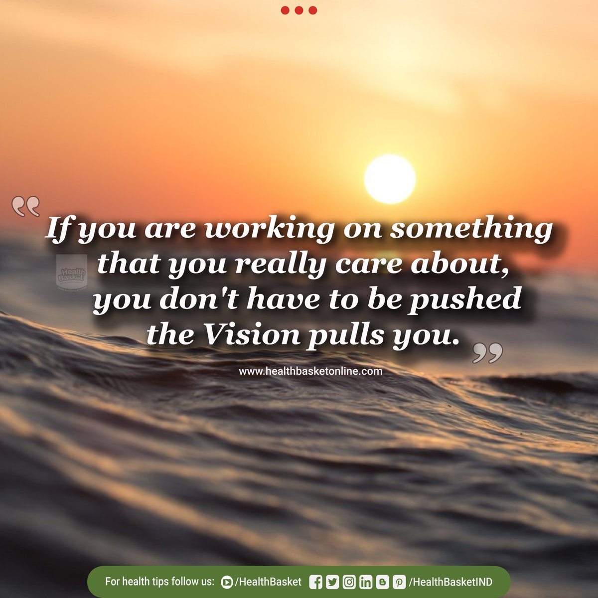 If you are working on something that you really care about, you don't have to be pushed the vision will pull you! Happy Evening!!!! #mondaymotivation #mondaymotivatonquotes #mondayquote #mondayquotes #mondaymorning #mondayvibes #mondaymood #mondaymantra