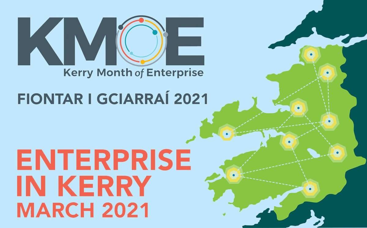 Now in its eighth year KMOE 2021 showcasing over 50 enterprise events taking place during the month of March. This collaborative inter-agency initiative shines a spotlight on the wide range of enterprise activities on offer all year round across Kerry https://t.co/AXl90ZJlrI https://t.co/REQZADsjoy