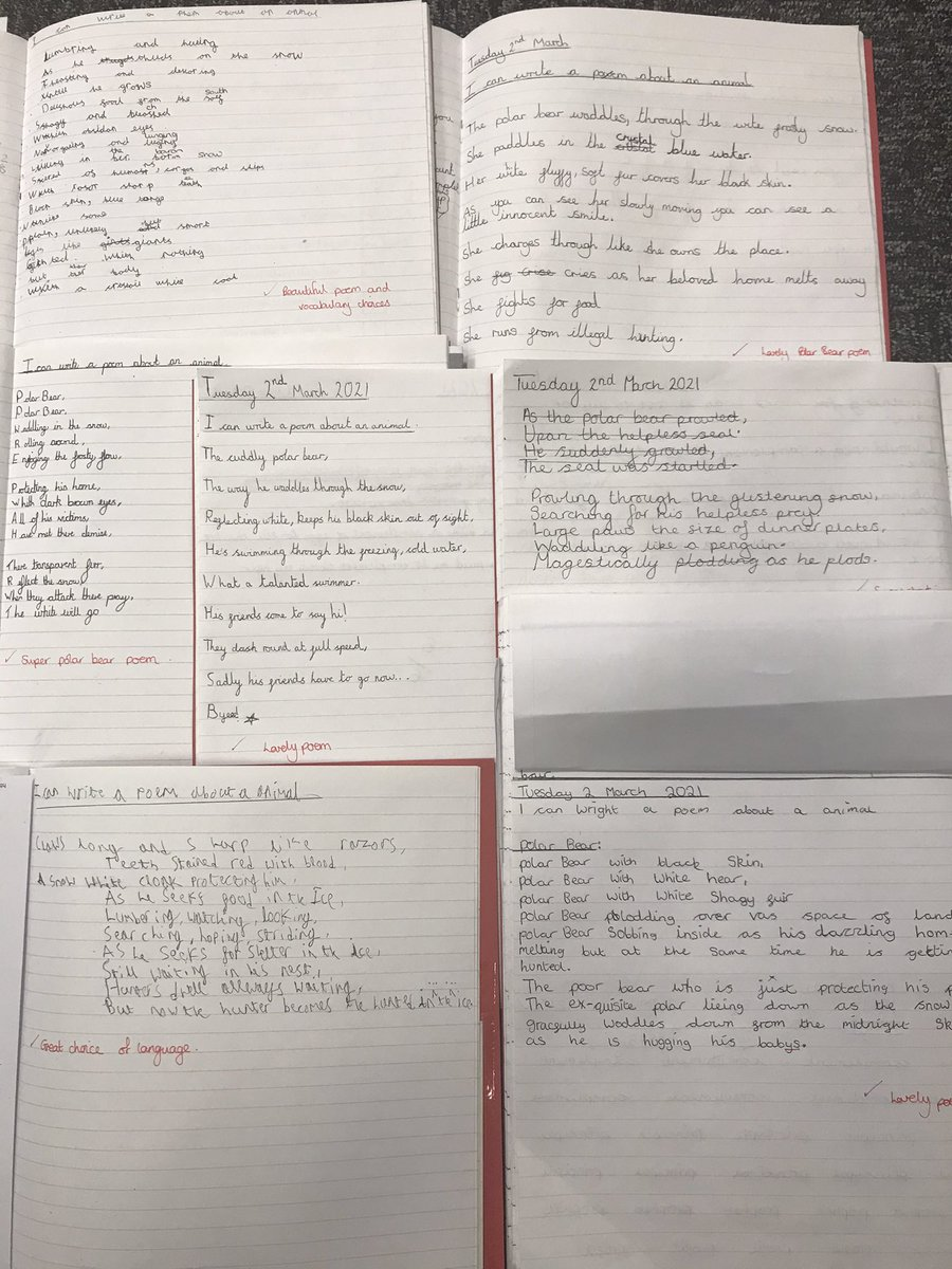 Wonderful poetry outcomes both in school and online from UKS2 #writers #amazing #poetry @TheLCUK @OakTreesMAT