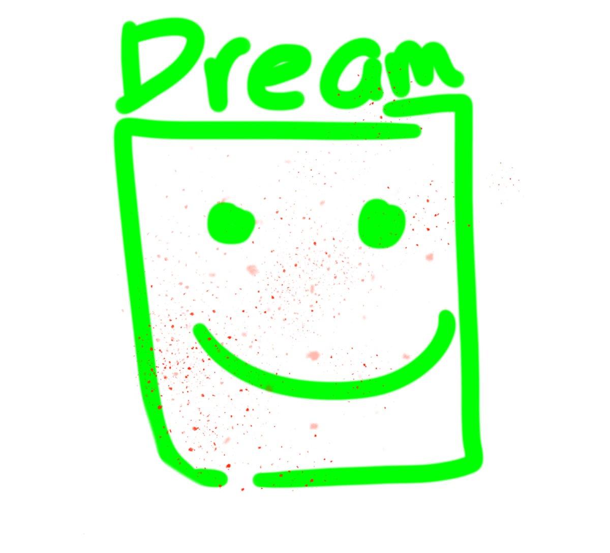 Decided to draw a little dream with blood :] #dreamsmp #dreamwastaken #dreamfanart #dreamsmpfanart #dttwt #feraltwt