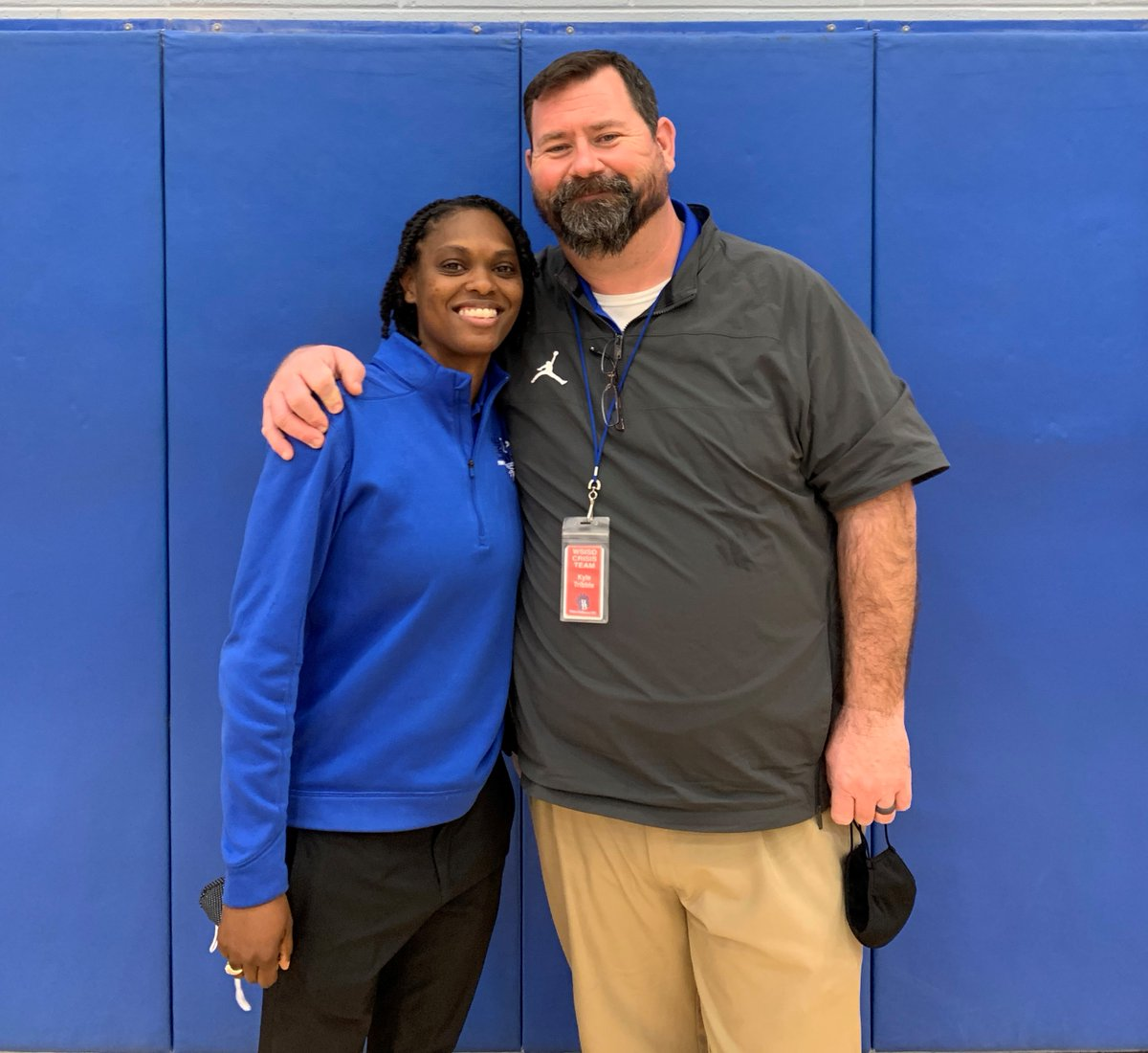 This year for #NATM2021, I wanted to take a moment each week to highlight each of the individuals I work with. @Madison_LAT_ATC is without a doubt one of the hardest working individuals I have ever met and a future leader in our industry. So happy she is a Brewer Bear! #therock