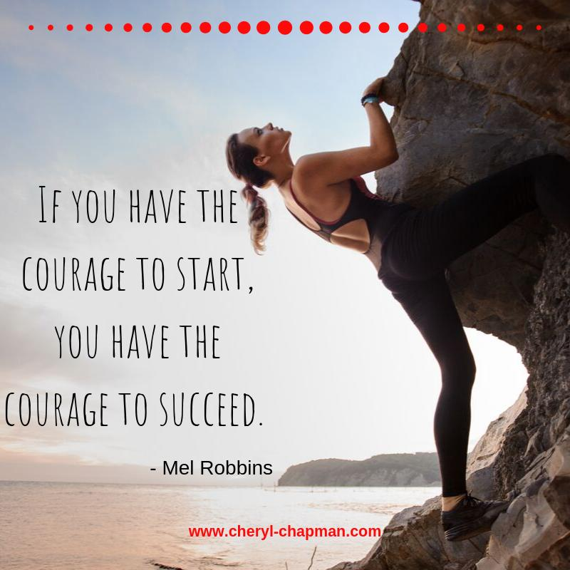 If the life you are living is not one that you are proud of, have the courage to begin again. Have the courage within you to say, this is not how my story will end.  Have the courage to start a new adventure of fearlessness in the pursuit of your dreams.  #courage #succeed