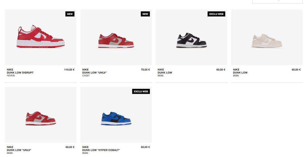 Ad: The Nike Dunk Low Disrupt